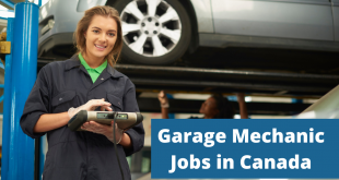 Garage Mechanic Jobs In Canada